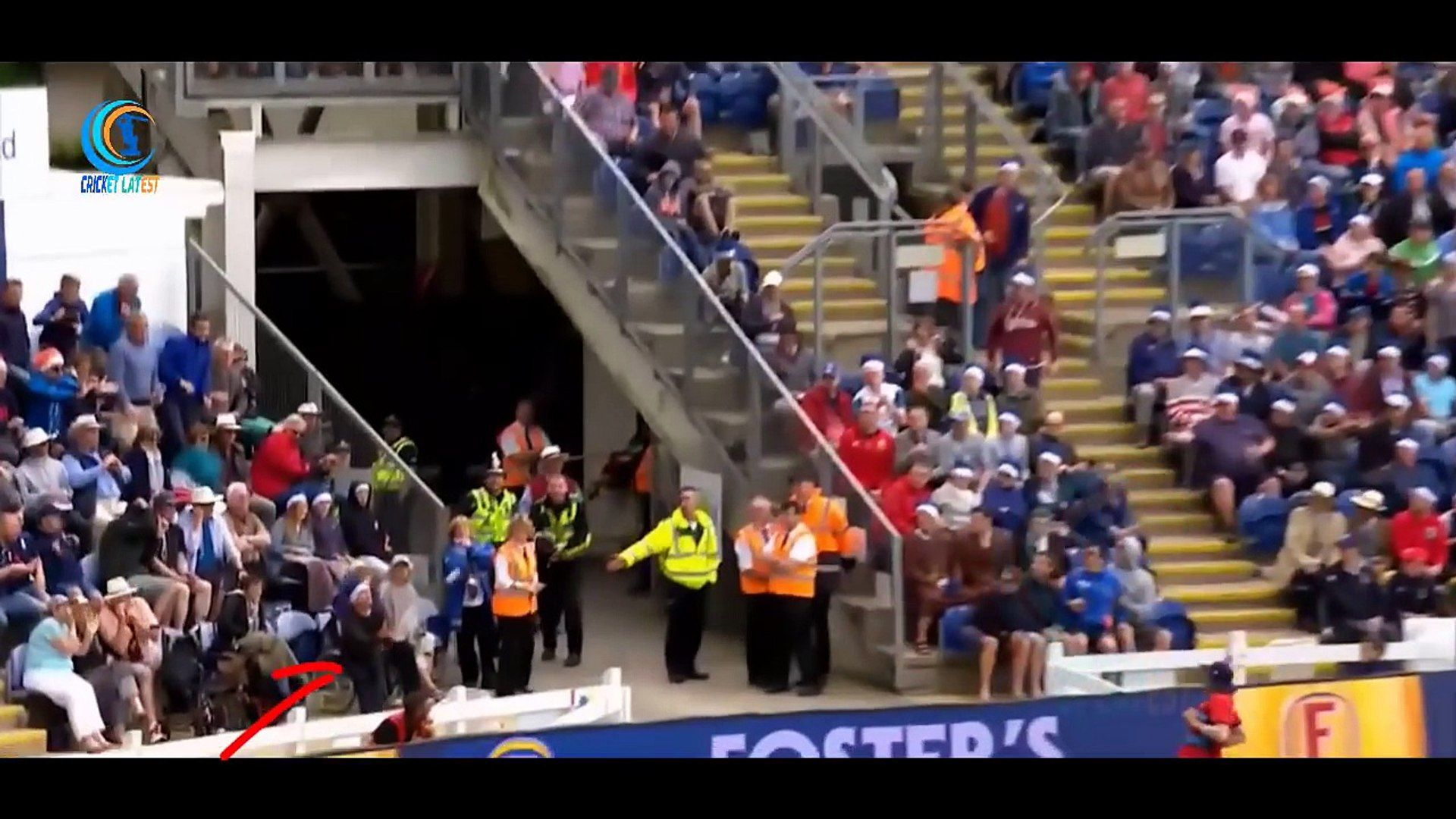 10 Crowd Catches in Cricket History Funny Spectator Catches