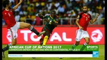 Africa Cup of Nations: Cameroon beats Egypt to win fifth title