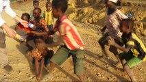 - Etiyopyalı Çocukların İlginç Pet Şişe Dansı  - Dağ Yollarında Çocuklar, Boş Pet Şişe Alabilmek İçin Dans Ederek Araçların Önünü Kesiyor  - Pet Şişe İçin Neredeyse Takla Atan Çocuklar, Buna Sahip Olduklarında İse Mutluluktan H