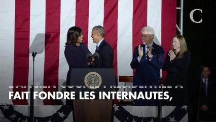 PHOTOS. L'adorable message de Barack Obama à son épouse Michelle pour la St-Valentin