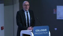 Intervention de Patrick Errard, président du Leem - Colloque Production le 14.02.2018