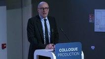 Intervention de Patrick Errard, président du Leem - Colloque Production le 14.02.2018