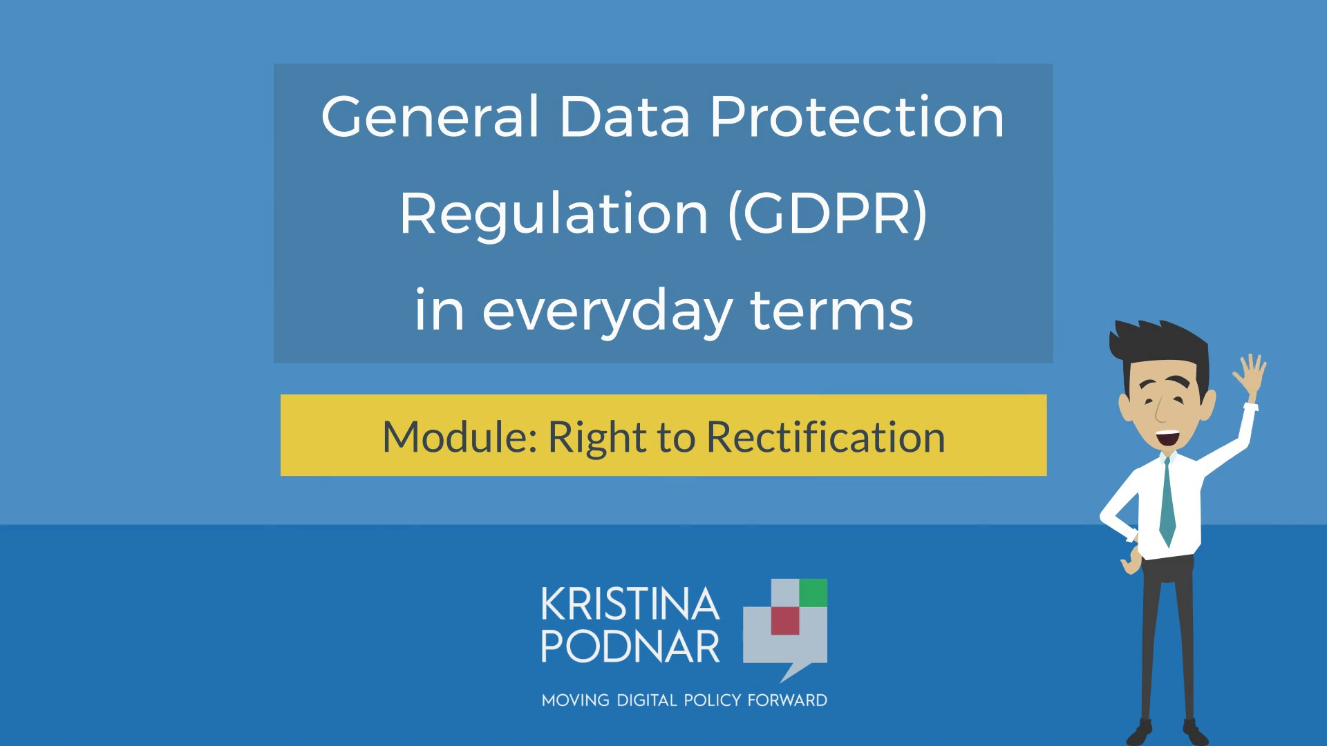 GDPR: Right to Rectification