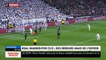 Le Real Madrid a remporté un match contre le PSG à 3 buts contre 1