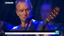 France: Music icon Sting reopens Bataclan concert hall one year after massacre in Paris