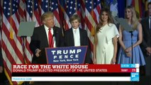 REPLAY - President-elect of the United States Donald Trump addresses the American nation
