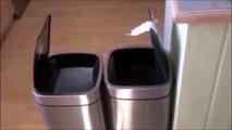 2 poubelles se parlent... merci la technologie LOL