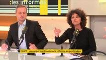 """Rapport Spinetta : """"On ne peut pas être dans l'injonction contradictoire envers la SNCF en lui demandant d'être une entreprise et donc d'être rentable et en même temps dans la volonté d'aménagement du territoire"""", selon Jean-Sébastien Ferjou #lesinformés"""