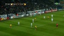 Kévin Gameiro Goal HD - FC Copenhagen 1-2 Atl. Madrid 15.02.2018