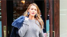 "Blake Lively Pairs the ""No Pants"" Trend With a Major Shoe Trend"