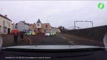 Ce policier se prend pour un pilote et se rate complètement dans le virage