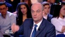 Emission politique : Jean-Michel Blanquer recadre Alexis Corbière