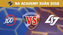 Highlights: 100 Thieves Academy vs Counter Logic Gaming Academy | NA Academy League Mùa Xuân 2018
