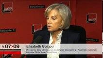 """Elisabeth Guigou : """"Nous sommes inquiets pour Hervé Gourdel"""""""