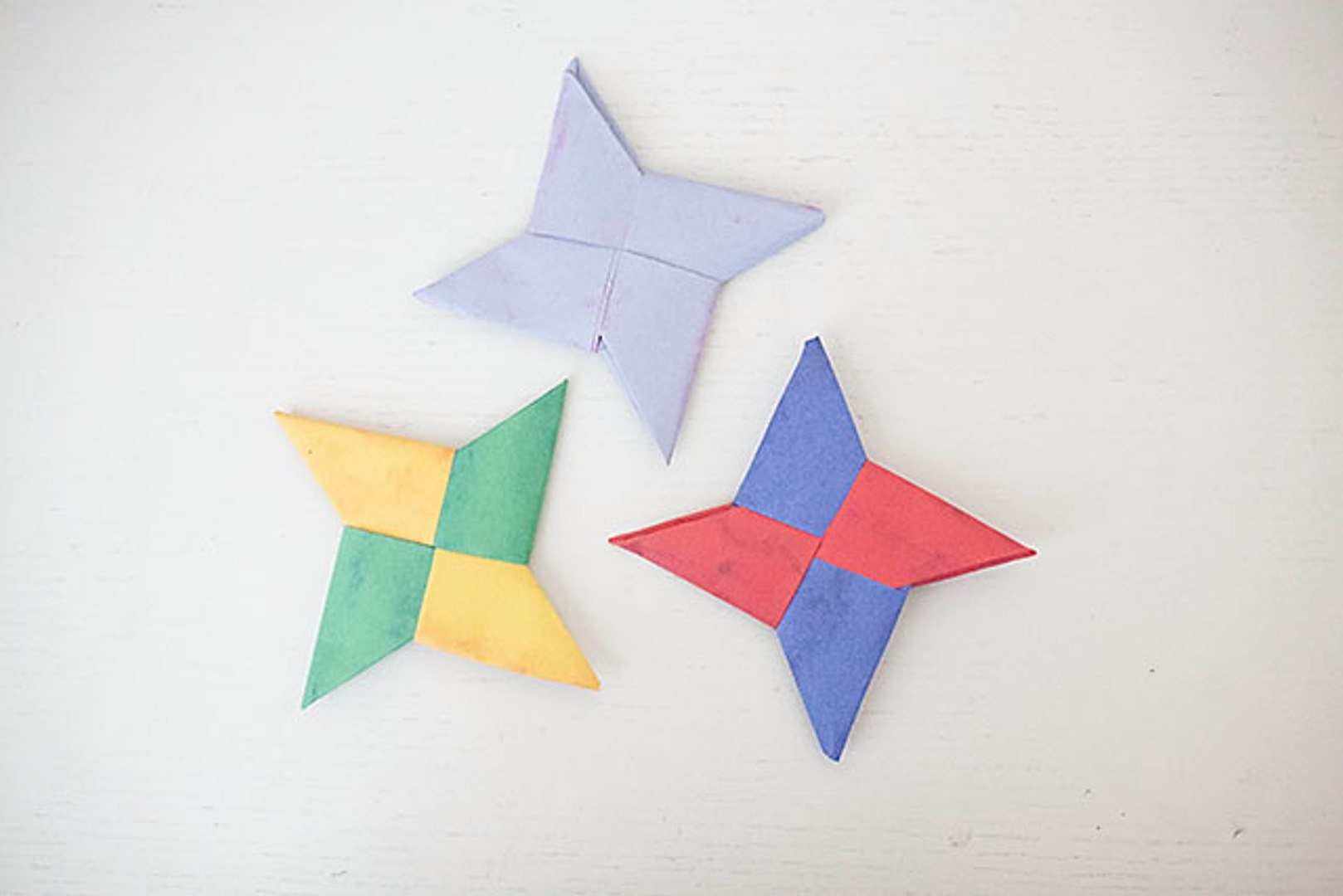 How to Make an Origami Ninja Star (Shuriken) - Double-Sided ... | 1080x1618