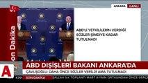 Türkiye�den ABD�ye önemli Afrin mesajı: YPG�nin bir an önce Münbiç�