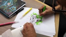 """Comment j'ai dessiné """"Dans la forêt sombre et mystérieuse"""", la leçon de dessin de Winschluss"""