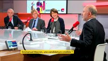 Pierre Moscovici sur la candidature d'Emmanuel Macron