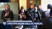 """""""Je n'ai aucun regret. J'ai fait mon devoir"""", dit Christophe Naudin à BFMTV"""