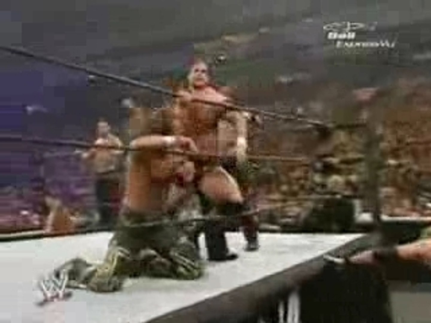 WWE Survivor Series 2006 - Team DX vs Team Rated RKO Part 2