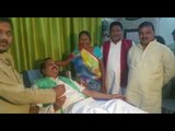 MLA reached hospital to give blood from Hindustan office