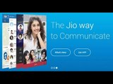 Reliance Jio launches chat and call app