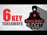 Rail Budget 2016   Key takeaways