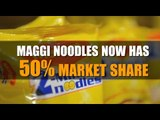 Maggi noodles now has 50% market share, says Nestle India