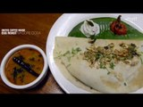 Mysore Dosa with Egg Roast Stuffing