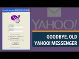 Yahoo discontinues old Yahoo Messenger app
