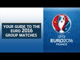 Schedule for UEFA Euro 2016 group matches