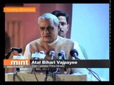 Atal Bihari Vajpayee | India's first prime minister from the BJP
