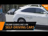 Trump administration unveils guidelines on self-driving cars