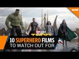Ten superhero films to watch out for