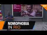 Nomophobia: Digital detox for cell phone addicts in Rio