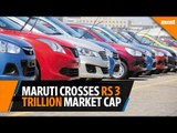 Maruti crosses Rs3 trillion in market cap, shares hit Rs10,000 mark