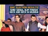 BMC election results: Shiv Sena falls short of winning mark