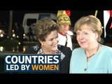 5 countries led by women | International Women's Day