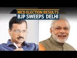 MCD election results: BJP wins again, AAP faults EVMS