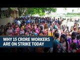 Bharat Bandh: Trade union strike shuts down parts of India