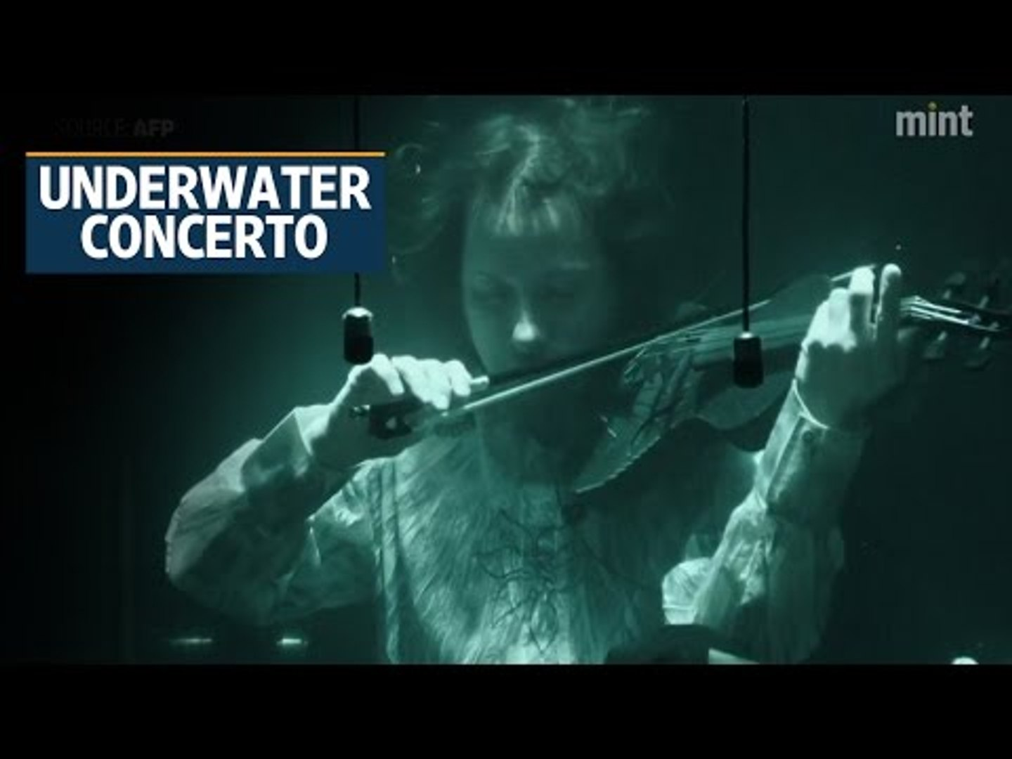 Innovative Danish musicians push boundaries with underwater show