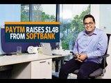 Paytm raises $1.4 billion from SoftBank, valuation soars to $7 billion