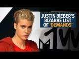 Justin Bieber's bizarre list of 'demands' for India tour