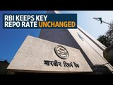 RBI keeps key repo rate unchanged, lowers inflation forecast
