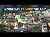 Indonesia's rainbow village' becomes an Internet sensation