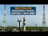 Isro's PSLV-C38 successfully places Cartosat-2, 30 other satellites into orbit