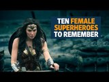 Ten female superheroes to remember