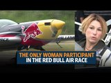 Melanie Astles is the only woman participant in the Red Bull Air Race