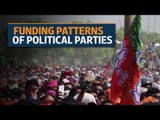 Funding patterns of political parties