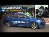 Hyundai unveils its self-driving car at CES 2017 in Las Vegas